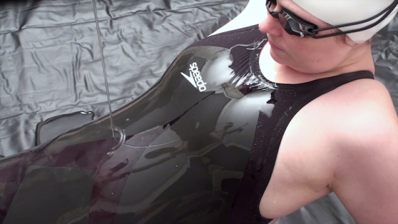 Black LZR Bodysuit in Gel