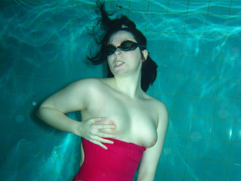 Pink Plug Swimming